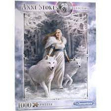 Load image into Gallery viewer, Clementoni Anne Stokes Winter Guardians  (1000 Pieces)