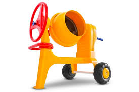 Polesie Play Cement-Mixer With Hitch Bar