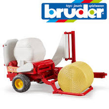 Load image into Gallery viewer, Bruder 2122 Round Bale Wrapper