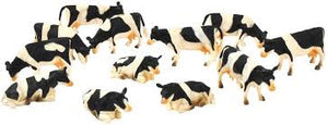 Kids Globe Pack of 12 Lying/Standing Cows