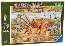 Load image into Gallery viewer, Ravensburger Dinosaurs 100pc Jigsaw Puzzle