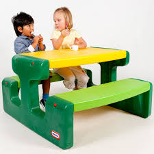 Little tikes  junior picnic table  evergreen.