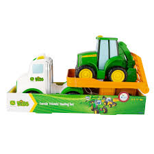 JOHN DEERE FARMING FRIENDS HAULING SET - LIGHTS & SOUNDS