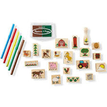 Load image into Gallery viewer, Melissa and Doug Stamp A Scene Farm