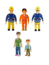 Load image into Gallery viewer, Fireman Sam Five Figure Pack