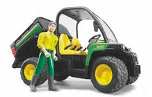 Load image into Gallery viewer, Bruder John Deere Gator 855D With Driver