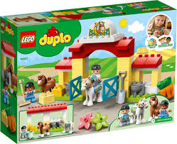 DUPLO 1091 Horse Stable and Pony Care