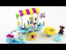 Load and play video in Gallery viewer, 41389  Lego friends, ice cream cart.