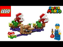 Load and play video in Gallery viewer, LEGO Super Mario LEGO 71382 Piranha Plant Puzzling Challenge Expansion Set