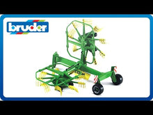 Load and play video in Gallery viewer, Bruder 2216 Krone Dual Rotary Windrower