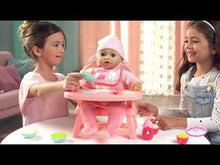 Load and play video in Gallery viewer, Baby Annabell Lunch Time