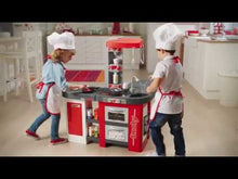 Load and play video in Gallery viewer, Smoby Tefal Kitchen Studio [RED]