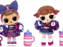 Load and play video in Gallery viewer, L.O.L. Surprise! All-Star B.B.s Sports Series 2 Cheer Team Sparkly Dolls with 8 Surprises