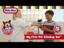 Load and play video in Gallery viewer, Little Tikes My First Pet Checkup Set