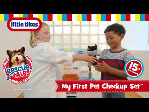 Little Tikes My First Pet Checkup Set