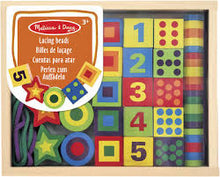 Load image into Gallery viewer, Melissa & Doug Deluxe Wooden Lacing Beads