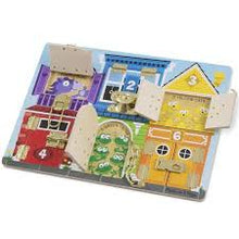 Load image into Gallery viewer, Melissa & Doug Latches Board