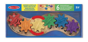 Rainbow Caterpillar Gear Toy by Melissa and Doug