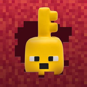 MINECRAFT DUNGEONS KEY GOLEM MEGA SQUISHME Regular price$16.99