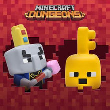 Load image into Gallery viewer, MINECRAFT DUNGEONS KEY GOLEM MEGA SQUISHME Regular price$16.99