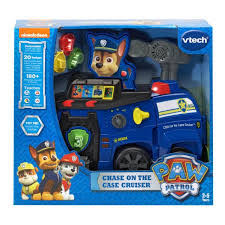 Paw Patrol Chase on the Case Cruiser