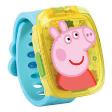 Load image into Gallery viewer, Vtech PEPPA PIG LEARNING WATCH Educational Toy          colour ass