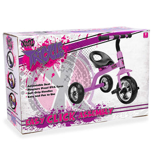 Xootz tricycle in purple
