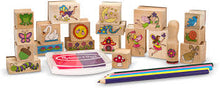 Load image into Gallery viewer, Melissa & Doug Stamp a Scene Fairy Garden