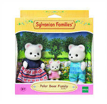 Load image into Gallery viewer, SYLVANIAN FAMILIES POLAR BEAR FAMILY - 3 FIGURES