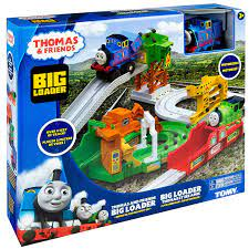 Thomas & Friends Big Loader & Sodor Island Train Set