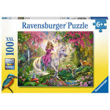 Load image into Gallery viewer, Ravensburger Unicorns XXL 100 Piece Jigsaw Puzzle