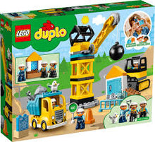 Load image into Gallery viewer, The LEGO DUPLO Construction Wrecking Ball Demolition (10932)