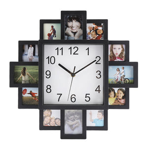 Photo Frame Wall Clock Picture Clock