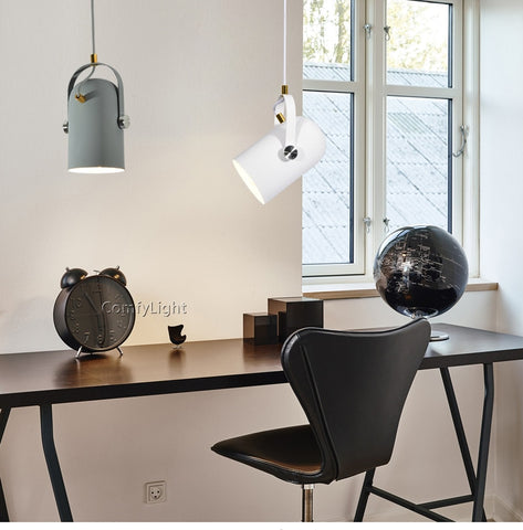 Image of Modern Nordic Angled Drop Light