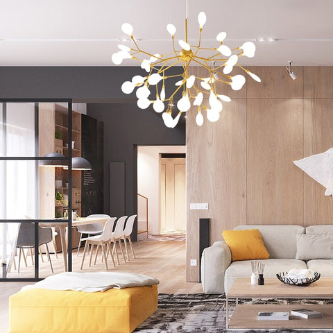 Image of Modern Firefly LED Chandelier - Sofrey Selects