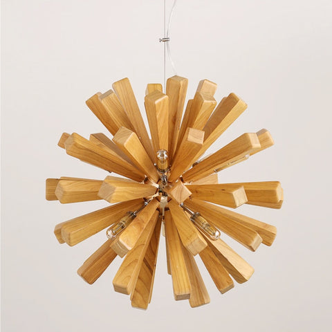 Image of Dandelion - Wooden Pendant Light