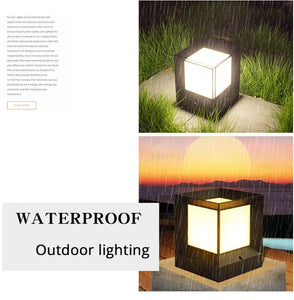 Lore - Modern Nordic Waterproof LED Cube Lamp