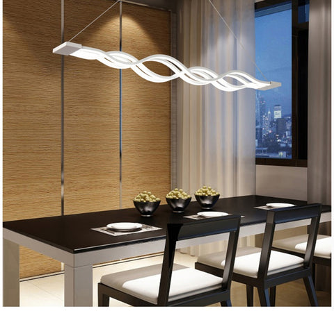 Image of LED Wave Chandelier