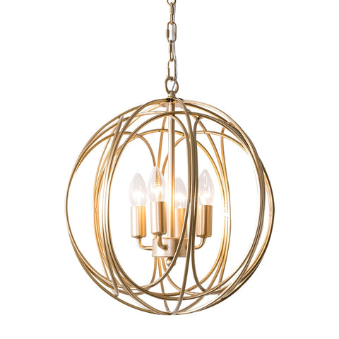 Image of Arbor - Modern Hanging Cage Lamp