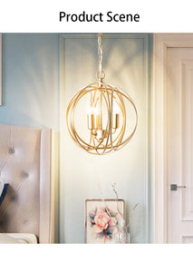 Arbor - Modern Hanging Cage Lamp