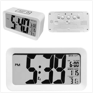 Digital Alarm Clock Student Clock Large LCD Display