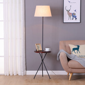 Lance - Modern Nordic End Table & Lamp
