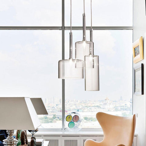 Image of Post-Modern Style Nordic Goblet - Glass Pendant Light