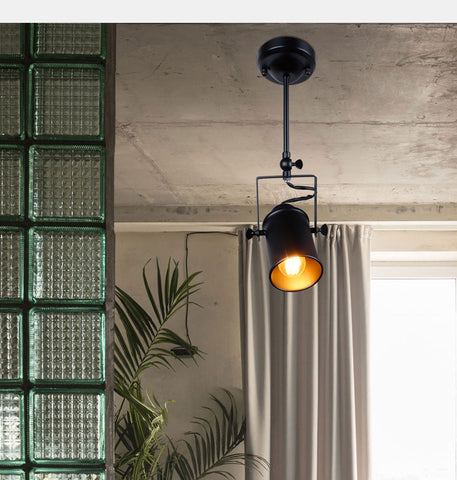 Image of Industrial Retail Pendant Hanging Light