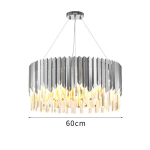 Gold Crystal Kitchen Pendant Hanging Lights