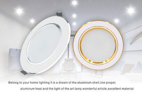 Image of Phyllis - Recessed Round LED Ceiling Lamp