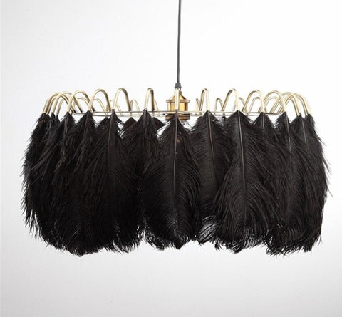 American Feather Chandeliers - Nordic, Modern Style