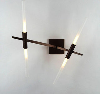 Glass Sticks Modern LED Wall Light