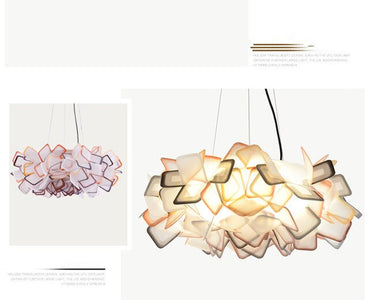 Blossoming Flower Acrylic Pendant Lights