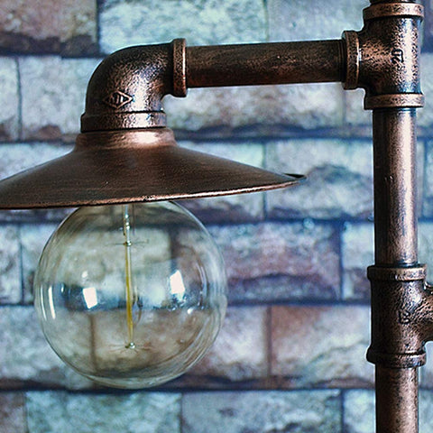 Image of Standing Industrial Style Floor Lamp
